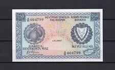 CHYPRE CYPRUS Billet de 250 Mils du 01/06/1982 P. N° 41c NEUF