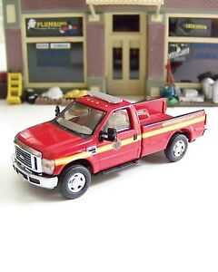 HO RIVER POINT STATION Ford F350 Fire Department Pickup Truck NO TAILGATE