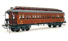 """Elegant, finely detailed model train kit by OcCre: the """"Costa MZA Coach"""""""