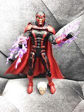 """Marvel Legends Magneto Apocalypse BAF Wave Loose 6"""" Missing two purple hands"""