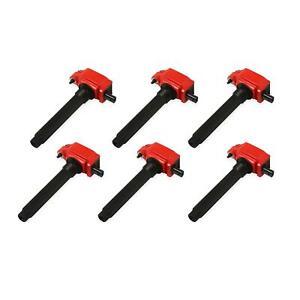 MSD 82736 Blaster Coil, 2011-16 Chrysler V6, 6-Pack, Red
