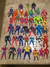 Huge Lot of 36 Marvel Super Heroes/Villains Loose Action Figures Marvel Comics