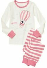 Girls Gymboree Gymmies 5 Pink Hot Air Balloon Fox Pajamas PJs