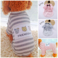 Pet Dog Shirt Fleece Vest Sweater Puppy Coat for Small Dogs Cat Clothes Jacket Z