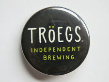 BEER BUTTON Pinback ~ TROEGS Independent Brewing Company ~ Hershey, PENNSYLVANIA
