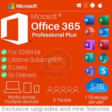 Microsoft Office 365 für 5PC ✔ 5MAC ✔✔ KEIN Abo ✔ MS® Office 2019 ✔✔ DAUERHAFT
