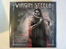 VIRGIN STEELE NOCTURNES OF HELLFIRE & DAMNATION LP 2015 (2)LP IMPORT POWER METAL