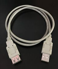 3FT USB Type A Male / Type A Female, Extension Cable, 2 Lot of 5