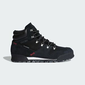 Adidas TERREX SNOWPITCH Men's Shoes Sneakers Boots Warm Hiking Sport Black