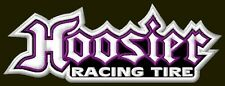 "HOOSIER RACING TIRE EMBROIDERED PATCH ~5-1/2"" x 2"" TYRES BORDADO PARCHE AUFNÄHER"