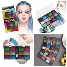 12 Colors Party Show Eye Shadow Sparkle Glitter Makeup Cream Eyeshadow Palette