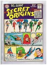 DC Comics Eighty Page Giant #8 Secret Origins VG/F+ 1965