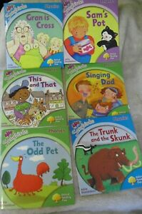 6 Oxford Reading Tree phonic readers by Julia Donaldson from  Levels 1,2,3,