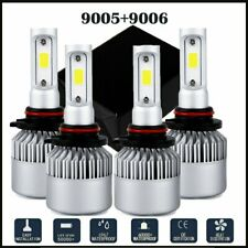 Combo 9005+9006 6000K LED Hi-Low Beam Headlight Fog lights White 200W 4000LM Kit