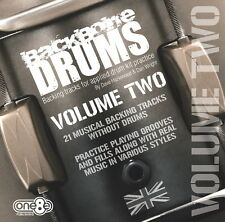 Backbone Drums - Backing Tracks for drum kit (Vol 2) - Various styles and tempo