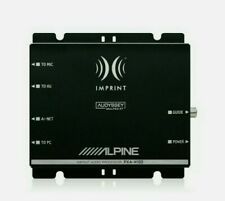 ALPINE PXA-H100 DSP Digital Sound Prozessor IMPRINT 6 Kanal RCA