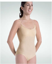 Body Wrappers 110 Nude Girl's Size Intermediate 6X-7 UnderWraps Camisole Leotard