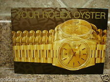 Vintage 1997 Rolex Your Oyster Booklet 1997 English