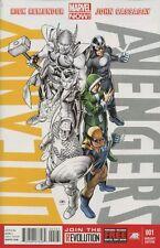 Uncanny Avengers #1 Uncanny Variant Comic Book - Marvel