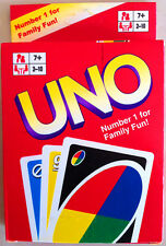 Brand New UNO Playing Cards Games 2 To 10 Players Number 1 For Family Fun