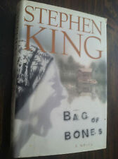 Bag of Bones by Stephen King (1998, Hardcover)  STORE#3421