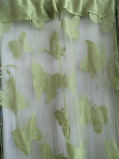 Butterfly String Tassel Panel Curtain Room Divider Window Hanging 1m x 2m Green