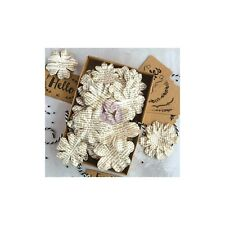 Prima Documented Beauty Flowers with tags Cards, Wrapping, Craft, Blooms