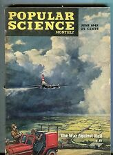 Popular Science Magazine June 1947 The War Against Hail 071017nonjhe