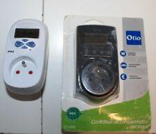 Otio Contrôleur Consommation Électrique CC 5000 mesure watt Electricité + OTAX