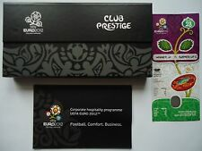 Programas ticket box club Prestige UEFA Euro 2012 inglaterra-italia match 28