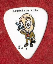"""Negotiate This"" Themed, Medium Thickness Guitar Picks, 5 pack."