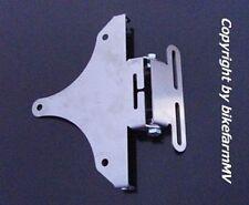 V2A XTP Kennzeichenhalter verstellbar 180 Suzuki GSR GSX R 600 750 1100 SRAD 130