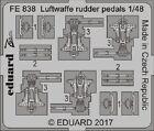 Eduard Zoom FE838 1/48 Luftwaffe rudder pedals