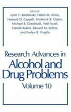 Research Advances in Alcohol and Drug Problems (Research Advances in Alcohol & D