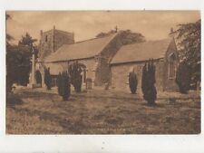 Somersby Church Lincolnshire Vintage Postcard 486b