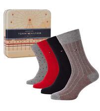 TOMMY HILFIGER - Chaussettes Socks homme Coffret Lot 4 paires