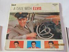 Disque vinyl 33 tours Elvis Presley A date with Elvis
