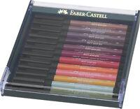 #267422 Faber-Castell PITT Artist Brush Pen Set of 12 Autumn Colours