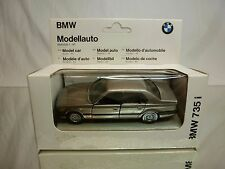 GAMA 1107 BMW 735i E32 - METALLIC BEIGE 1:43 - GOOD CONDITION IN BOX