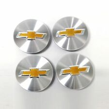 New OEM Aluminum Wheel Center Cap 4Pc Set for Chevrolet Cruze Volt Malibu 11-13