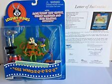 chuck jones signed autograph looney tunes  road runner wile e. coyote figure JSA