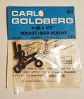 "Carl Goldberg 4-40x1/2"" Socket Head Machine Screws with Washers Vintage Rc 313"