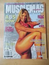 MUSCLEMAG muscle bodybuilding magazine/WWE wrestling Diva TORRIE WILSON 7-99