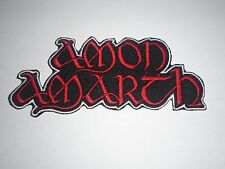 AMON AMARTH DEATH METAL IRON ON EMBROIDERED PATCH