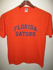 University Of Florida Gators Gainesville USA Russell Athletic Orange T Shirt Med