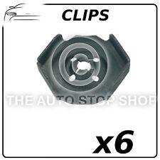 Clips Heat Sheild Nuts Renault Avantime/Captur/Clio/Duster etc 11441 Pack of 6