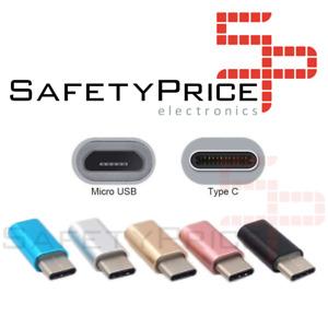 ADAPTADOR NEGRO CABLE MICRO USB A TIPO C NEGRO REF968