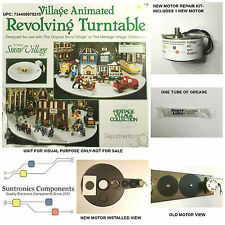 Dept 56- Animated Revolving Turntable -734409078215- Replacement motor-part