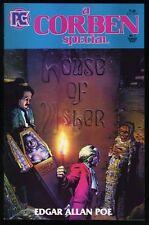 a Corben Special Comic Richard Corben art Edgar Allan Poe House of Usher Horror