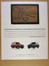 2000 Land Rover Range Rover & Discovery Series II print Ad